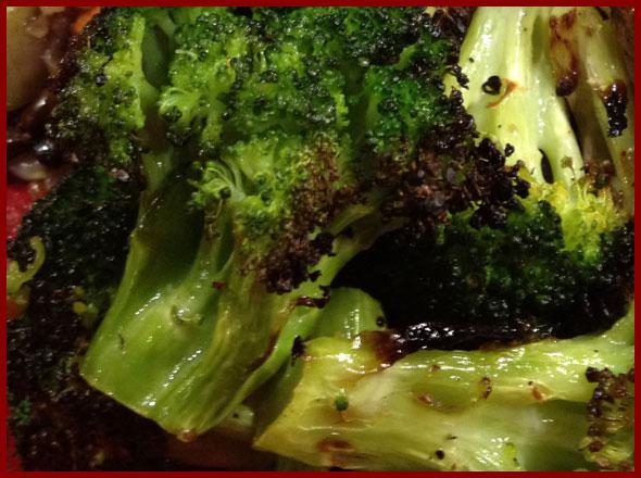 Lemon roasted broccoli recipe nourishment connection for Fish and broccoli diet