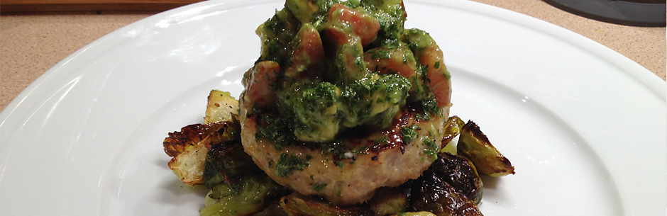 Tomato Avocado Lime Chicken Burger